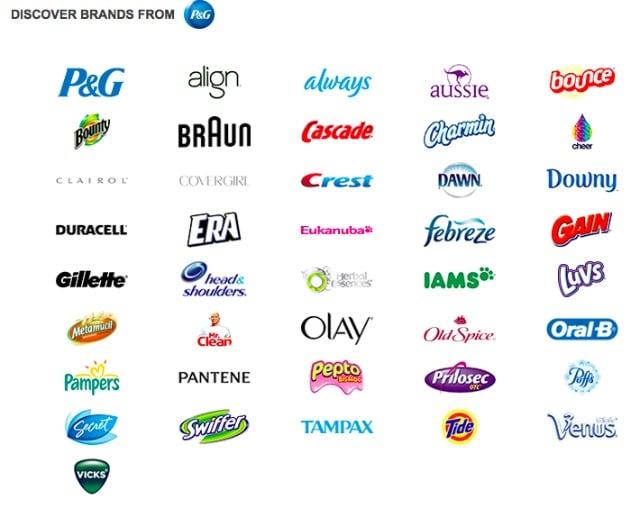 P&G Brands กลยุทธ์ การตลาด