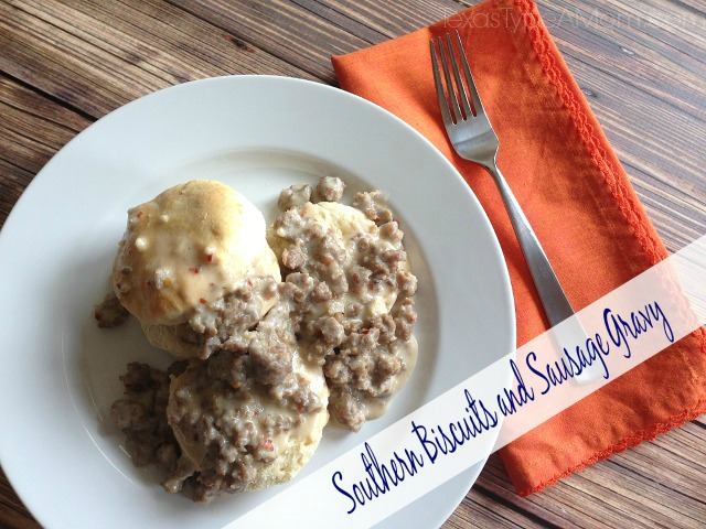 This Southern Biscuits and Sausage Gravy recipe is an easy breakfast ...