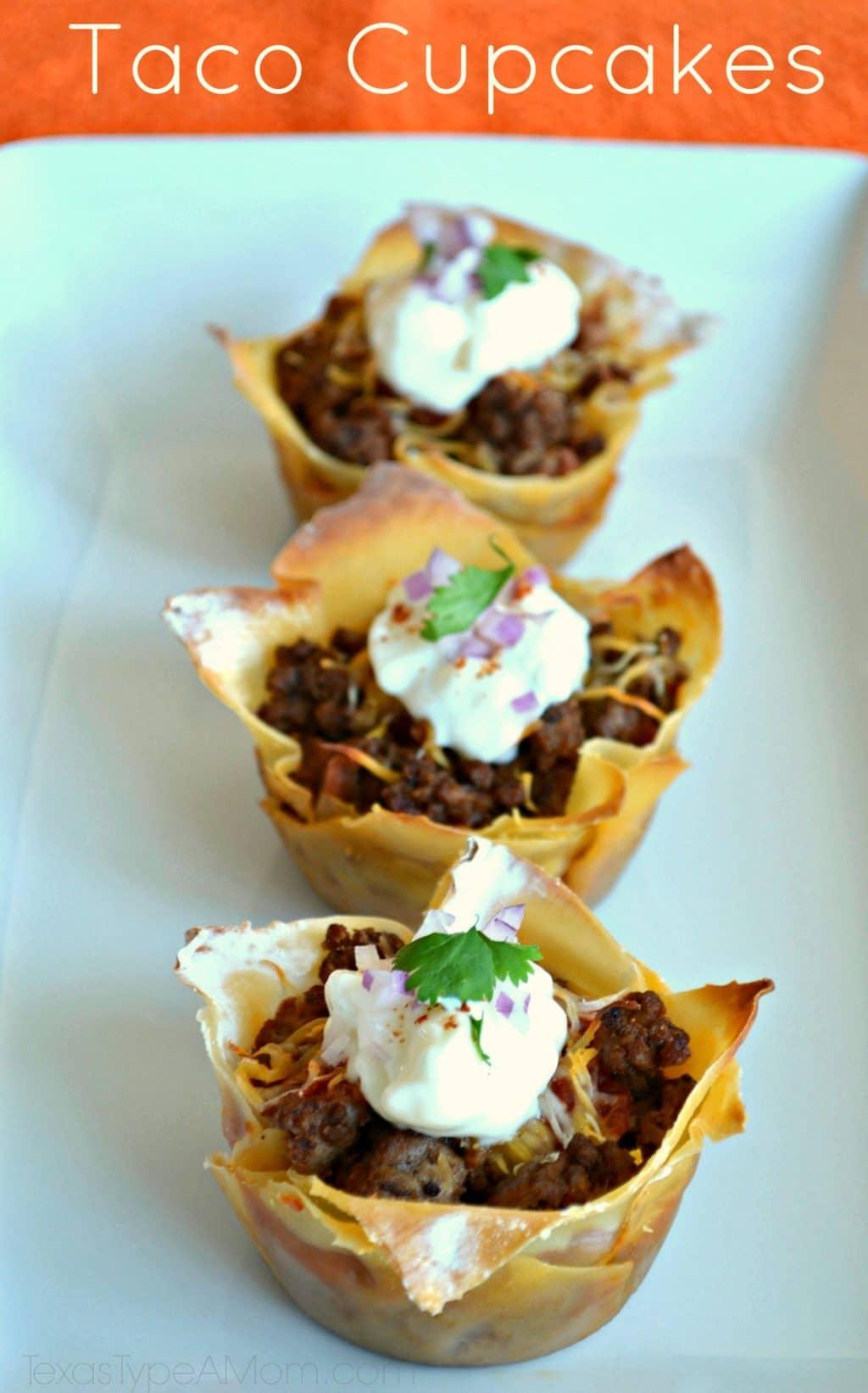 Taco Cupcakes #recipe