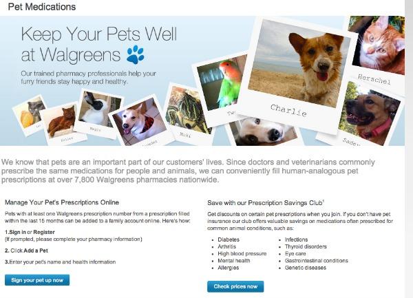 Walgreens Pet Medications #shop #walgreensrx