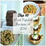 Top 10 Most Popular Recipes of 2014