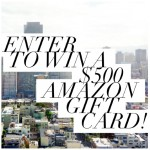 Fall Giveaway: $500 Amazon Gift Card (or Paypal)